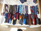 LOT OF 65 VINTAGE 50S 60S  70S MENS NECK TIES MAYBE EVEN 40S TIE 2