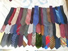 LOT OF 50 VINTAGE 50S 60S  70S MENS NECK TIES MAYBE EVEN 40S TIE 1