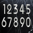 Numbers House Address Modern Design Style Home Metal Number Custom Digit Sign