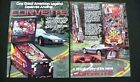 Corvette Bally Pinball Flyer Mint / Original Brochure