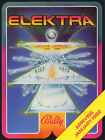Elektra Arrival Pinball Machine Flyer Original Brochure