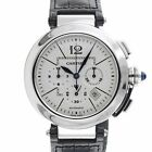 Cartier 2860 Pasha W3108555 Chronograph Cal 8100 MC Stainless Steel Automatic