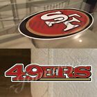 San Francisco 49ers Sticker Decal Vinyl NFL Niner Empire 3 Decal Sizes