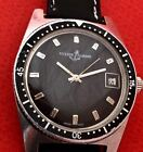 VINT ULYSSE NARDIN DIVER AUTOMATIC BLACK DIAL Ca 50 swiss made