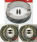 WATER GROOVED Front & Rear Brake Shoes +Springs Honda TRX 90 90X 90EX Sportrax