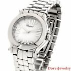 Chopard Happy Sport Diamond Steel Ref 8509 Women's Watch $7100.00 NR