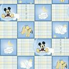 Disney Mickey Mouse Good Night Little one Fabric pluto moon star BTY
