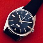 VINT ULYSSE NARDIN DATA & DAY AUTOMATIC BLACK DIAL Ca 48 NO RESERVE PRICE@@@