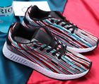 2018 New Mens Smart Casual fashion shoes breathable sneakers running shoes