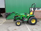 John Deere 4200 Hydrostatic Compact tractor with Front Loader