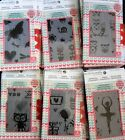 Motion Crafts Animation Clear Stamps by Uchis Design Pick 1 of 6 Stamp Sets NEW