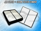 AIR FILTER CABIN FILTER COMBO FOR 1999 2000 2001 2002 2003 CHEVROLET TRACKER