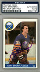 Tom Barrasso Autographed Signed 1985-86 Topps Card Buffalo Sabres PSA #83921161