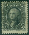 EDW1949SELL : USA 1868 Scott #90 Used. Fresh stamp. PSAG Certificate. Cat $400.