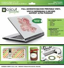 Cricut Imagine Full Adhesive Backed Printable Vinyl 5 Sheets Kitchen New Fast S