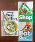 Weight Watchers Shop Eat Out Food Companions 2014 + Bonus Cookbook Lot