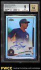 2014 Topps Chrome Refractor George Springer ROOKIE RC AUTO 499 BGS 9 MT (PWCC)