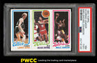 1980 Topps Basketball Larry Bird & Magic Johnson ROOKIE RC PSA 7(st) NRMT (PWCC)
