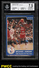 1984-85 Star Basketball Michael Jordan ROOKIE RC #288 BGS 7.5 NRMT+ (PWCC)