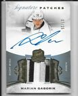15-16 UD THE CUP SIGNATURE PATCH AUTOGRAPH #SP-MG MARIAN GABORIK AUTO 7 25 3CL