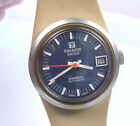 TISSOT FIBERGLASS SWISS SIDERAL AUTOMATIC DATE VINTAGE WRISTWATCH WEAR or REPAIR