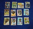 1978-1979 TOPPS FOOTBALL STAR & ROOKIE CARD LOT OF 180 W ALAN PAGE MINT *95132