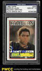 1983 Topps Football Marcus Allen ROOKIE RC AUTO #294 PSA DNA 10 GEM MINT (PWCC)
