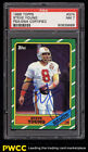 1986 Topps Football Steve Young ROOKIE RC, PSA DNA AUTO #374 PSA 7 NRMT (PWCC)