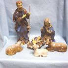 Unique Old 10 pc Dicksons Nativity Set 10 1 4 Figurines Christmas Collectibles