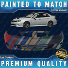 New Painted To Match Front Bumper Direct Fit For 2008-2011 Subaru Impreza Wrx