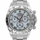 Rolex 116509 D Daytona Cosmograph Meteorite Dial 18kt White Gold Swiss Automatic