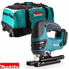 Makita 18v DJV180 LXT Cordless Jigsaw Lithium Ion BODY + Makita LXT600 6 kit bag