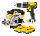 Dewalt DCD785 + DCS391 18V XR Lithium Ion Combi Drill & Circular Saw + 2 DCB183