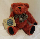 Cute Earthy Red Boyds Jointed Bear,  J. B. Bean & Associates, 1985-1994