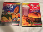 Lot of 2 WEIGHT WATCHERS 2001 COMPLETE FOOD Dining out WINNING POINTS reference
