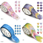 200PCS Roll Masking Scrapbook Sticker Sticky Paper Flower Petals Tape Washi Tape