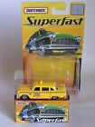 MATCHBOX SUPERFAST 2005 1 OF 8000 33 CHECKER CAB US TAXI YELLOW RARE MINT BOXED