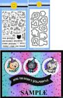 Sunny Studio PURRFECT BIRTHDAY Clear Stamps  Custom Craft Die Set Cats