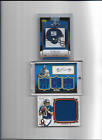 ELI MANNING NEW YORK GIANTS 3 FOOTBALL CARDS AUTO , JERSEY ,PATCH ,LIMITED NICE,