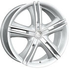17x7 Hypersilver Alloy Ion Style 161 Wheels 4x100 4x45 +40 FORD ESCORT ZX2