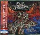 EVIL INVADERS-FEED ME VIOLENCE-JAPAN 2 CD BONUS TRACK Ltd/Ed F83