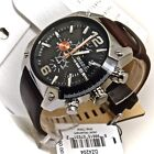 Diesel Men's DZ4204 Advanced Watch with Brown Leather  Band