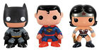 FUNKO POP DC The New 52 BATMAN WONDER WOMAN SUPERMAN Vinyl figures Exclusive MIB