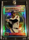 1993 KENNY LOFTON TOPPS FINEST REFRACTOR #43 CENTERED INDIANS (233)