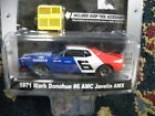1971 MARK DONOHUE #6 AMC JAVELIN AMX  2010 GREENLIGHT MUSCLE CAR GARAGE HOBBY