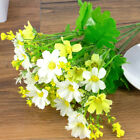 28 Heads Daisy White Flowers Decor Artificial Small Mini Daisy Fake Flower han