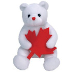 1 X TY Beanie Baby - NORTHLAND the Bear Canada Exclusive