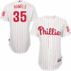Cole Hamels Philadelphia Phillies Majestic Home 6300 Player Authentic Jersey -