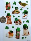 AGC Stickers St Patricks Day green shamrock photo real animal dog cat rabbit