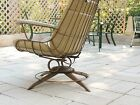 Garden Patio Spring Rocking Chair Porch Yard Metal Eames Mid Century Quality